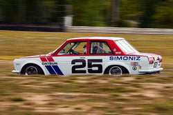 Kevin Shaha - 1971 Datsun 510 in Group 2/7a - Mid Bore Production/1973-1985 Production Car at the 2018 SOVREN Columbia River Classic run at Portland International Raceway