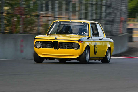 Laurie Lyford - 1969 BMW 2002 in Group 2/7a - Mid Bore Production/1973-1985 Production Car at the 2018 SOVREN Columbia River Classic run at Portland International Raceway