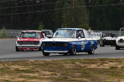 Mark Rincon - 1967 BMW 1602 in Group 2/7a - Mid Bore Production/1973-1985 Production Car at the 2018 SOVREN Columbia River Classic run at Portland International Raceway