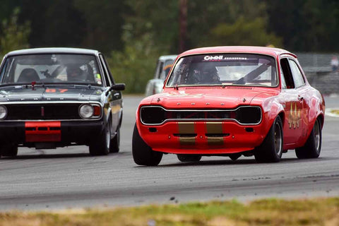 John McCoy - 1969 Ford TC Escort in Group 2/7a - Mid Bore Production/1973-1985 Production Car at the 2018 SOVREN Columbia River Classic run at Portland International Raceway