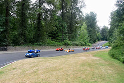 Group 1 - Vintage/Historic Smallest Bore/Formula V at the 2018 SOVREN Pacific Northwest Historics run at Pacific Raceways