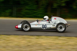 Krista Johnson - 1968 Zink C-4 FV in Group 1 - Vintage/Historic Smallest Bore/Formula V at the 2018 SOVREN Pacific Northwest Historics run at Pacific Raceways