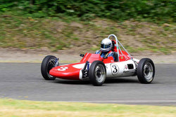 Dan Tilden -  Zink V4 FV in Group 1 - Vintage/Historic Smallest Bore/Formula V at the 2018 SOVREN Pacific Northwest Historics run at Pacific Raceways