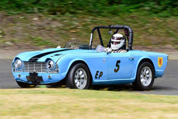 Alec Buchan - 1962 Triumph TR4 in Group 1 - Vintage/Historic Smallest Bore/Formula V at the 2018 SOVREN Pacific Northwest Historics run at Pacific Raceways