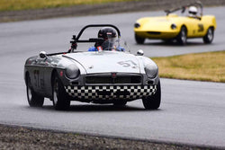 Fred Harnishfeger - 1963 MGB in Group 1 - Vintage/Historic Smallest Bore/Formula V at the 2018 SOVREN Pacific Northwest Historics run at Pacific Raceways