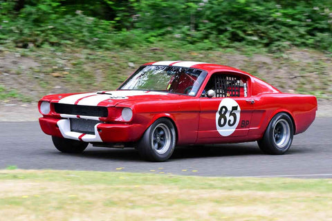 Scott Stevens - 1966 Ford Mustang in Group 3 - Historic Large Bore at the 2018 SOVREN Pacific Northwest Historics run at Pacific Raceways