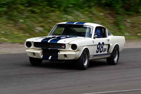 Bob Hooper - 1966 Ford Mustang in Group 3 - Historic Large Bore at the 2018 SOVREN Pacific Northwest Historics run at Pacific Raceways