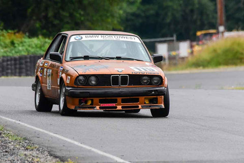 Jim Cissell - 1987 BMW 325is in Group 3 - Historic Large Bore at the 2018 SOVREN Pacific Northwest Historics run at Pacific Raceways