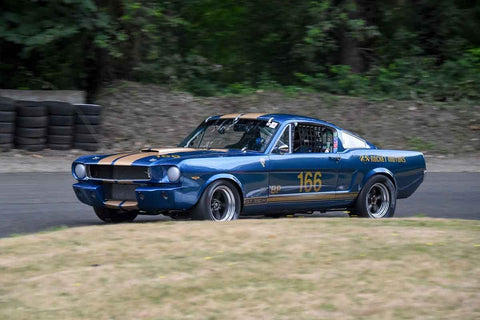 Del MacKenzie - 1965 Ford Mustang in Group 3 - Historic Large Bore at the 2018 SOVREN Pacific Northwest Historics run at Pacific Raceways