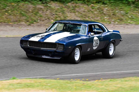 Todd Morton - 1969 Chevrolet Camaro in Group 3 - Historic Large Bore at the 2018 SOVREN Pacific Northwest Historics run at Pacific Raceways