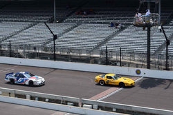Ray Zisa - 1990 Chevrolet Corvette in Group 10/12A -  at the 2018 SVRA Brickyard Vintage Racing Invitational run at Indianapolis Motor Speedway