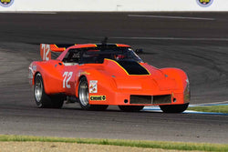 Zack Arnold - 1974 Chevrolet Corvette in Group 10/12A -  at the 2018 SVRA Brickyard Vintage Racing Invitational run at Indianapolis Motor Speedway