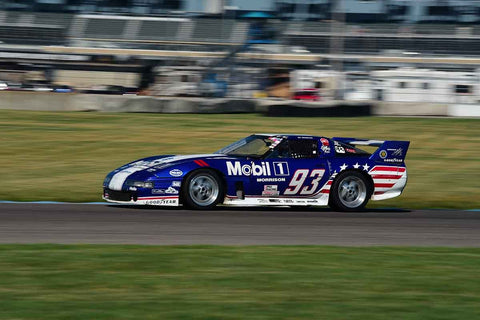 Jonathan Pfeffer - 1990 Chevrolet Corvette in Group 10/12A -  at the 2018 SVRA Brickyard Vintage Racing Invitational run at Indianapolis Motor Speedway