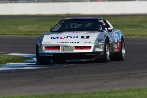 Robert Pfeffer - 1990 Chevrolet Corvette in Group 10/12A -  at the 2018 SVRA Brickyard Vintage Racing Invitational run at Indianapolis Motor Speedway