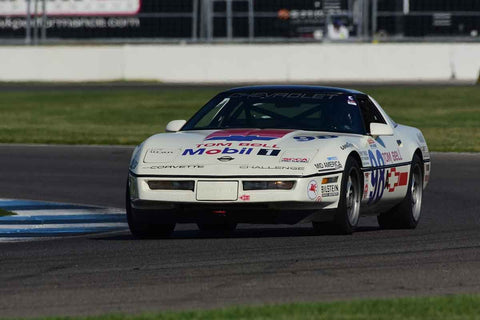 Brett Henderson - 1988 Corvette Challenge Series in Group 10/12A -  at the 2018 SVRA Brickyard Vintage Racing Invitational run at Indianapolis Motor Speedway