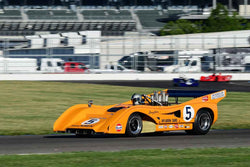 Alex MacAllister - 1971 McLaren M8F in Group 5/7/11 at the 2018 SVRA Brickyard Vintage Racing Invitational run at Indianapolis Motor Speedway