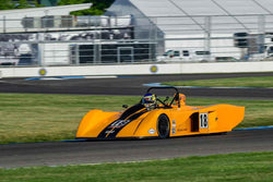 Tom Lehmkuhl - 2002 Carbir CS2 in Group 5/7/177 at the 2018 SVRA Brickyard Vintage Racing Invitational run at Indianapolis Motor Speedway
