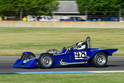 Chris DeMinco - 1971 Mallock 11B in Group 5/7/177 at the 2018 SVRA Brickyard Vintage Racing Invitational run at Indianapolis Motor Speedway