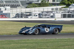Hobart Buppert - 1969 Lola T70 Mk III in Group 5/7/11 at the 2018 SVRA Brickyard Vintage Racing Invitational run at Indianapolis Motor Speedway