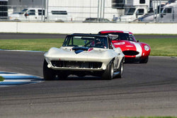 Joe Robau - 1964 Chevrolet Corvette in Group 6 - Big Bore Production Sports Crs and Sedans Through 1972 at the 2018 SVRA Brickyard Vintage Racing Invitational run at Indianapolis Motor Speedway