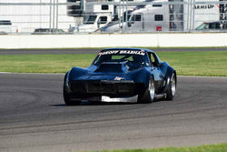 Jody O'Donnell - 1969 Chevrolet Corvette in Group 6 - Big Bore Production Sports Crs and Sedans Through 1972 at the 2018 SVRA Brickyard Vintage Racing Invitational run at Indianapolis Motor Speedway