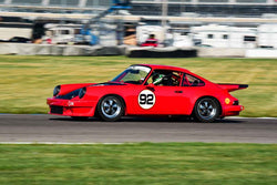 John Coyle - 1978 Porsche 911 C in Group 6 - Big Bore Production Sports Crs and Sedans Through 1972 at the 2018 SVRA Brickyard Vintage Racing Invitational run at Indianapolis Motor Speedway