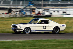 Gary Moore - 1965 Shelby GT 350 in Group 6 - Big Bore Production Sports Crs and Sedans Through 1972 at the 2018 SVRA Brickyard Vintage Racing Invitational run at Indianapolis Motor Speedway