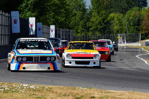 Groups 8, 12B at the 2018 SVRA Portland Vintage Racing Festival  run at Portland International Raceway