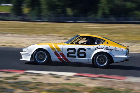 John Murray - 1971 Datsun 240Z - Groups 8, 12B at the 2018 SVRA Portland Vintage Racing Festival  run at Portland International Raceway