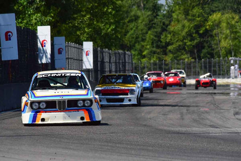 Thor Johnson - 1974 BMW CSL - Groups 8, 12B at the 2018 SVRA Portland Vintage Racing Festival  run at Portland International Raceway