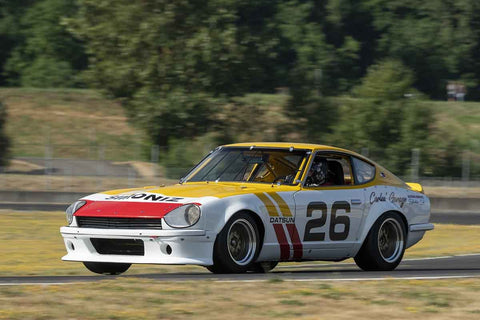 John Murray - 1971 Datsun 240Z - Group 5A, 7, 9, 11 at the 2018 SVRA Portland Vintage Racing Festival  run at Portland International Raceway