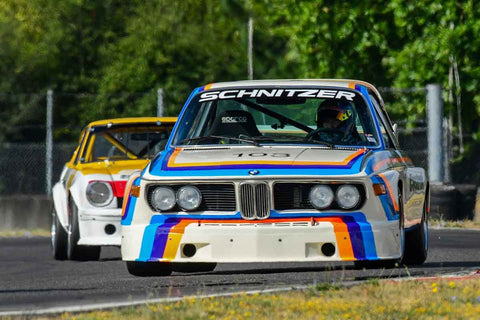 Thor Johnson - 1974 BMW CSL - Group 5A, 7, 9, 11 at the 2018 SVRA Portland Vintage Racing Festival  run at Portland International Raceway