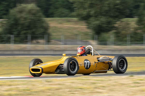 David Alvarado - 1970 Titan Mark 6 - Group 2 at the 2018 SVRA Portland Vintage Racing Festival  run at Portland International Raceway