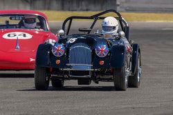 Mike Granat -  Morgan +4 - Group 1, 3, 4, 5B at the 2018 SVRA Portland Vintage Racing Festival  run at Portland International Raceway
