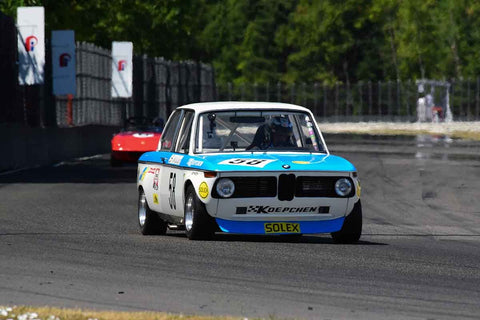 Steve Walker - 1971 BMW 2002 - Groups 8, 12B at the 2018 SVRA Portland Vintage Racing Festival  run at Portland International Raceway