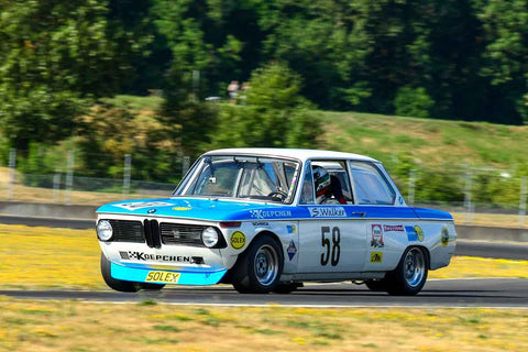 Steve Walker - 1971 BMW 2002 - Group 8, 12B at the 2018 SVRA Portland Vintage Racing Festival  run at Portland International Raceway