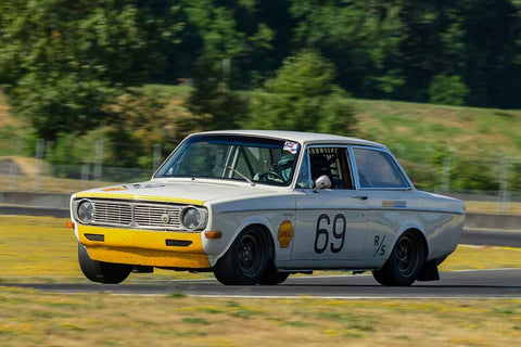 Hans Gutmann - 1968 Volvo 142 - Group 8, 12B at the 2018 SVRA Portland Vintage Racing Festival  run at Portland International Raceway