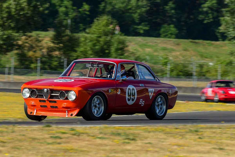 Bruce McKean - 1967 Alfa Romeo GTV - Group 8, 12B at the 2018 SVRA Portland Vintage Racing Festival  run at Portland International Raceway