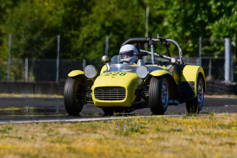 John Mahall - 1962 Lotus Seven - Groups 8, 12B at the 2018 SVRA Portland Vintage Racing Festival  run at Portland International Raceway
