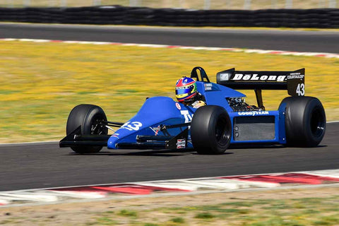 Steve Romak - 1985 Tyrrell 012 - Masters Historic Formula One at the 2018 SVRA Portland Vintage Racing Festival  run at Portland International Raceway