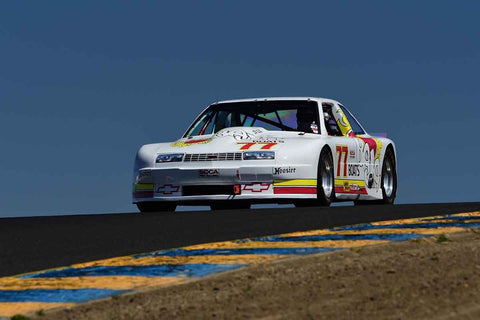 Nick De Vitis - 1988 Chevrolet Beretta in Group 12/13 - 1970-79 IMSA GT Cars & 1982-91 Historic IMSA GTO/SCCA Trans Am Cars  at the 2018 SVRA Sonoma Historic Motorsports Festival run at Sonoma Raceway