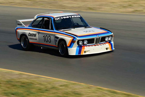 Thor Johnson - 1974 BMW CSL in Group 12/13 - 1970-79 IMSA GT Cars & 1982-91 Historic IMSA GTO/SCCA Trans Am Cars  at the 2018 SVRA Sonoma Historic Motorsports Festival run at Sonoma Raceway
