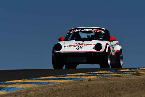 Bruce Wing - 1980 Porsche 911 SC in Group 12/13 - 1970-79 IMSA GT Cars & 1982-91 Historic IMSA GTO/SCCA Trans Am Cars  at the 2018 SVRA Sonoma Historic Motorsports Festival run at Sonoma Raceway