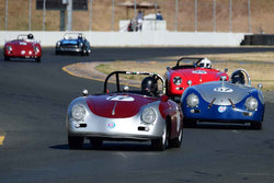Max Jamiesson - 1957 Porsche 356 Speedster in Group 3 - 1955-65 Production & GT Cars at the 2018 SVRA Sonoma Historic Motorsports Festival run at Sonoma Raceway