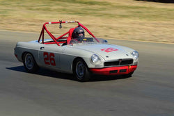 Paul Konklen - 1962 MGB in Group 3 - 1955-65 Production & GT Cars at the 2018 SVRA Sonoma Historic Motorsports Festival run at Sonoma Raceway