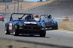 Robert Davis - 1966 MG Midget in Group 3 - 1955-65 Production & GT Cars at the 2018 SVRA Sonoma Historic Motorsports Festival run at Sonoma Raceway