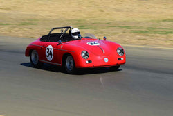 Chuck Christensen - 1959 Porsche 356 Super Convertible D in Group 3 - 1955-65 Production & GT Cars at the 2018 SVRA Sonoma Historic Motorsports Festival run at Sonoma Raceway