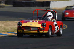 Thomas Turner - 1962 Triumph Spitfire 4 in Group 3 - 1955-65 Production & GT Cars at the 2018 SVRA Sonoma Historic Motorsports Festival run at Sonoma Raceway