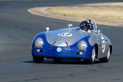William Lyon - 1957 Porsche 356 in Group 3 - 1955-65 Production & GT Cars at the 2018 SVRA Sonoma Historic Motorsports Festival run at Sonoma Raceway