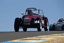 Mark Pladson - 1964 Morgan 4/4 Competition in Group 3 - 1955-65 Production & GT Cars at the 2018 SVRA Sonoma Historic Motorsports Festival run at Sonoma Raceway